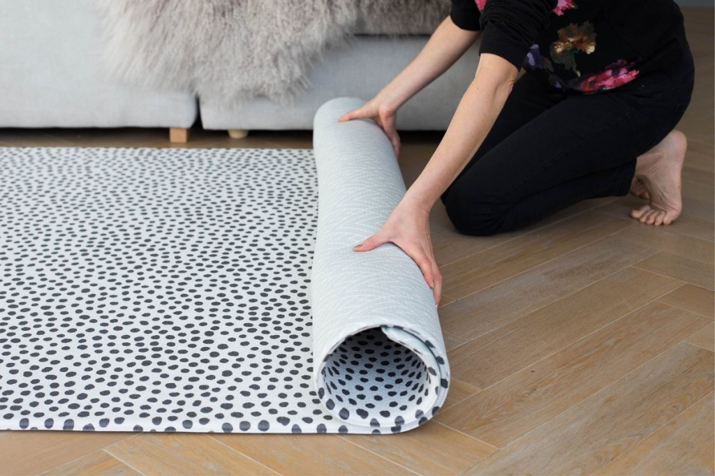 Totter and Tumble play mat