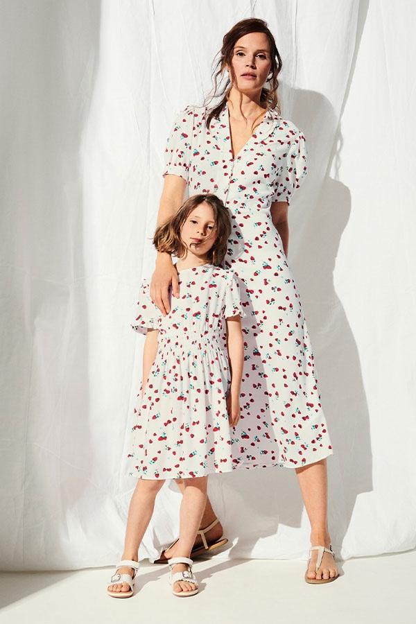 M&S x Ghost Mini Me dresses