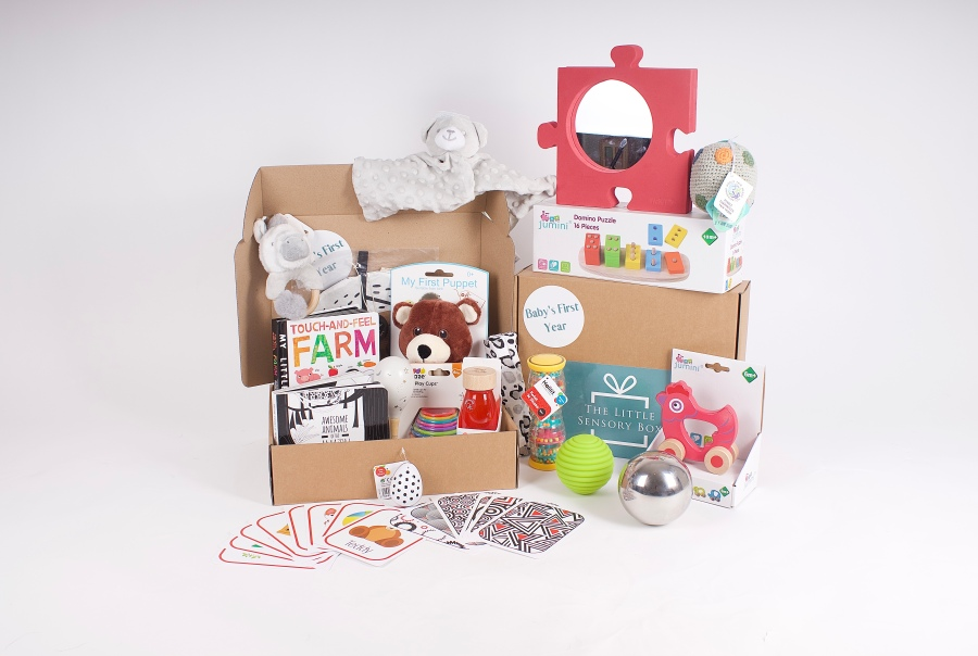 The Little Sensory Box Baby's First Year subscription box